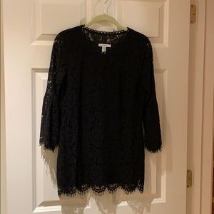 Isaac Mozarabic Live black lace top
